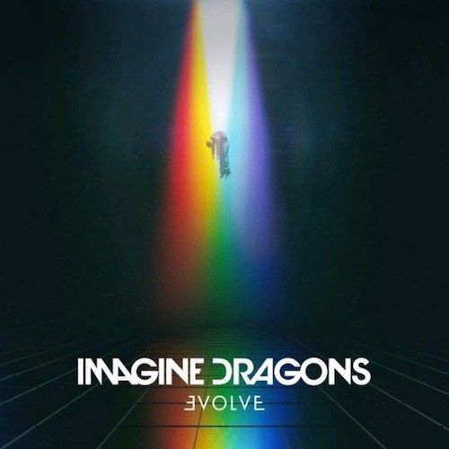 Imagine Dragons Evolve 2017 cover art